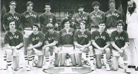 That's me, kneeling in front on the right, next to Coach Gentry.