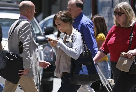Texting While Walking